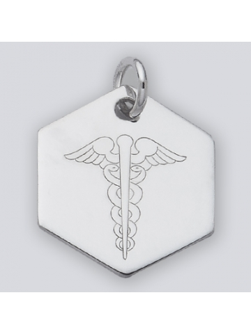 Medical id bracelets one silver tree silver large medical alert pendat mozeypictures Images